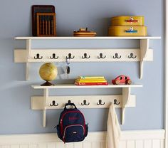 I'm thinking the larger shelf would be perfect in my laundry/mud room.