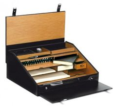 Portable writing desk set . . . Italian . . . with stuff inside