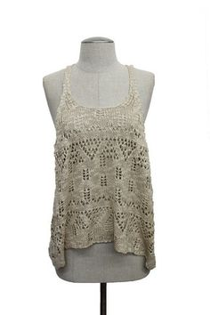 Apparel - Crochet Tank – Gypsy Soul Collective