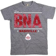 Men's Pan Am BNA Nashville T-Shirt | Vintage Pan Am Tees | PalmerCash.com