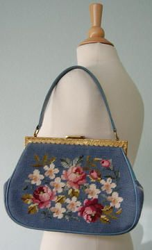1950's Vintage Purse....I have two my Grandmother made and they are treasures!