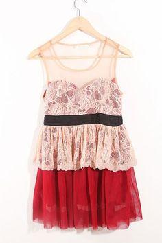 Sleeveless Flower Pattern Bound Waist Dress
