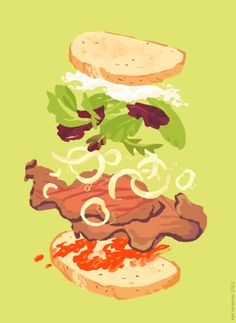 sandwich time / Kali Ciesemier