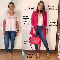 Curvy Outfits, Mom Outfits, Fashion Outfits, Womens Fashion, Look Blazer, Business Casual Outfits, Casual Chic, Casual Looks, Beautiful Outfits
