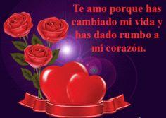 Imagen de amor de rosas y corazones con frase - http://www.imagenesdeamor.pro/2013/07/imagen-de-amor-de-rosas-y-corazones-frase.html