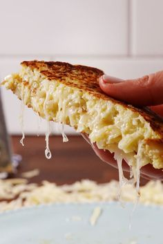 Cauliflower Grilled Cheese-1 head cauliflower, (to make about 4 cups processed cauliflower) 2 eggs, lightly beaten 1/2 c. finely grated Parmesan 1/2 tsp. oregano 1 1/2 c. shredded white Cheddar