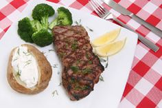 Three basicways to cook steak are…  #1…You can fryit.  #2…You canoven roast it the way they do in restaurants.  #3…You can grill it.  OK, take a deep breath and startoff with a steak that is at least 1-inch thick (strip steak, t-bone, porterhouse, etc.) — anything thinner will likely dry out, and anything thicker makes it difficult to gauge doneness.