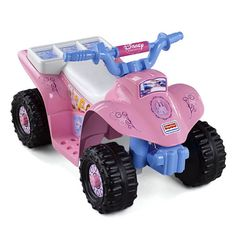 Found it at Wayfair Supply - Power Wheels Disney Princess 6V Battery Powered ATV
