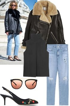 Shop the Street Style: On the Down Low  - HarpersBAZAAR.com