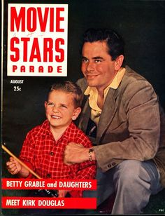 Glenn Ford and son Peter