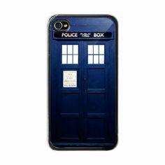 iPhone 4 /4s hard case  Tardis Door / doctor who  Phone by BeeCase, $15.50