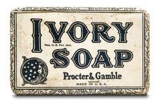 Ivory Soap Package label