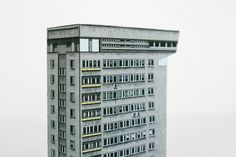 Architecture:Iconic Warsaw Buildings By Zupagrafika Recycled Paper Replicas Architecture Design Idea Exterior Plan Scheme Concept Facade Wit...
