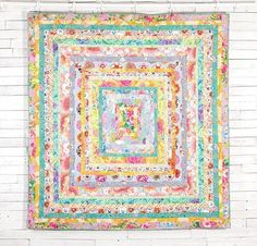 You can't miss the Craftsy-exclusive Ice Cream Quilt Kit from FreeSpirit featuring fabric from the Kaffe Fassett Classics! You'll receive gorgeous Kaffe Classics fabric to sew this breathtaking 77' x 81' design plus instructions to create a Bobbi Penniman designed quilt. Featuring the sensational florals, vivid prints and bold hues that Kaffe is known for, this quilt top is sure to become a treasured family heirloom.