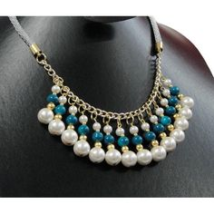 f834c59bf3f0 pulseras de moda 2015 paso a paso - Buscar con Google Collar Blanco