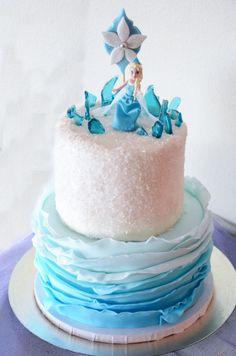 my gorgeous cake! :)  #Frozen  #Frozenbirthdayparty #birthdaycake