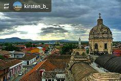 From @kirsten_b_: Rooftop view #Granada #Nicaragua #ILoveGranada #AmoGranada #Travel