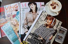 Ivânia Diamond - Fashion & lifestyle: LIFESTYLE | Reading fashion magazines