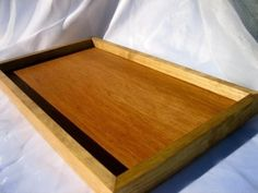 Varnished Rustic Sand Box by LGBstudio.com - Used to hold all of your Place Cards - Fill it with sand, rice, etc.