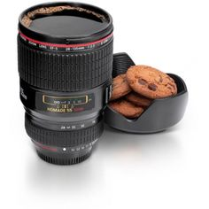 Now you can impress your photographer friends with this cool realistic camera lens coffee cup. Luckily your camera lens mug is much more cheaper than a real camera and you. Camera Lens Mug, Camera Case, Security Camera, Wireless Security, Cool Gadgets, Tech Gadgets, Cool Gifts, Unique Gifts, Quirky Gifts