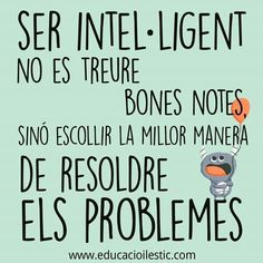 Inteligencia Positive Quotes For Life, Life Quotes, Smart Quotes, Mr Wonderful, Psychology Quotes, I Feel Good, Education Quotes, Classroom Management, Sentences