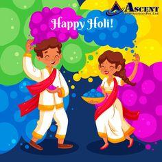 Enjoy the festive spirit and the bright colours of life. Enjoy the day fully. Happy Holi. Festival Holi, Holi Festival Of Colours, Festival Flyer, Festival Posters, Paint Splash, Color Splash, Holi Party, Holi Celebration, Happy Janmashtami