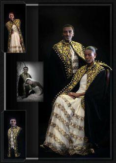 Celebrity Chef Marcus Samuellson & Model Maya Haile Ethiopian wedding