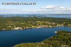 Brändö, Jurmon saaristokylä Ilmakuva: Lentokuva Vallas Oy