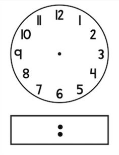 blank clock faces clock faces clocks and digital rh pinterest com