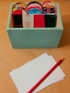 Recipe Box for teacher appreciation