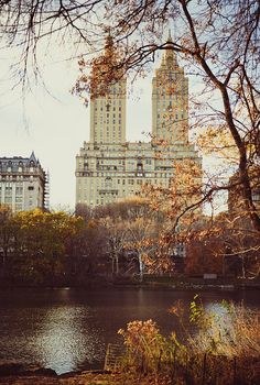 New York. West Central Park. Autumn