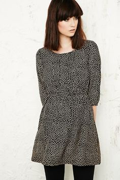 Cooperative Floral Pleated Dress at Urban Outfitters