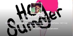 Robbie Coles followe me !