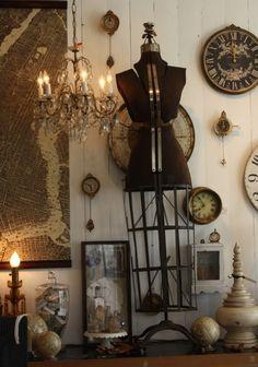 Cute antique corner.