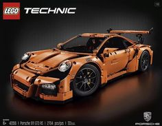 LEGO Technic Porsche 911 GT3 RS (42056) (Free 2-Day Shipping) New  #Lego