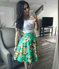 [New] The 10 All-Time Best Home Decor (in the World) - Mi complemento Dios es fiel I es Cute Fashion, Modest Fashion, Skirt Fashion, Fashion Outfits, Modest Dresses, Casual Dresses, Casual Outfits, Cute Outfits, Jw Mode