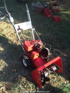 MaxSold - Auction: Bowie Downsizing Online Auction -  Snow blower