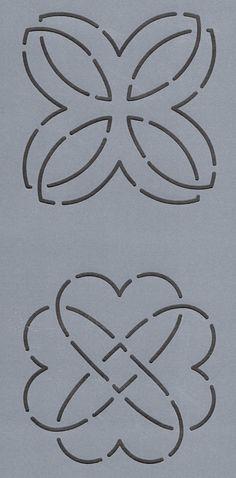 "Heart Knot/Beginner's Choice 3"" - The Stencil Company"
