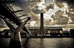 Tate Modern - on the other side of the Millennium Bridge, London