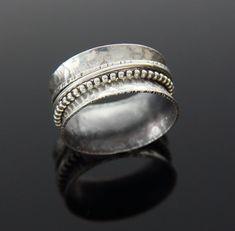Sterling Silver Spinner Ring by glasskatz on Etsy, $65.00