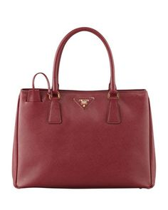 Saffiano Gardener\'s Tote Bag, Wine (Cerise) by Prada at Neiman Marcus.