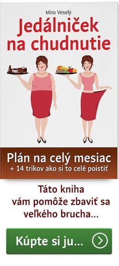 Píše Miro Veselý: Vyskúšajte si môjtýždňový jedálniček na chudnutie, ktorý sa už osvedčil. Stačí, ak si vyberiete deň a hneď môžete začať správne chudnúť.