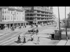 OLD ORCHARD BEACH MAINE~ Published on Mar 13, 2013.Views of Old Orchard Beach between 1890-1906 showing the Fiske House,Old Orchard House,Hotel Velvet,the Pier and the beach.