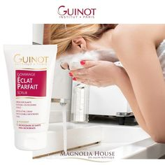 Guinot's ECLAT PARFAIT SCRUB for the face with double microbeads reveals a glowing complexion by eliminating dead skin cells. It comforts and protects the newly exfoliated epidermis with a protecting film. Ask your aesthetician how you can receive your free Guinot product. Gift with Purchase Value $59 👍 ♥️ . . #guinot #guinotcanada #giftwithpurchase #GWP #skincare #skincareroutine #skintips #beauty #facecare #skinfood #glowingskin #healthandwellness #wellness #facial #wellnessjourney…