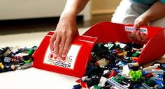 ToyDozer is a fantastic tool to teach your kids how to clean up those small Lego, puzzle, etc. pieces!
