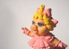 "80s Toy Baby Miss Piggy on Rollerskates Costume idea for ""Favourite Childhood Toy"" Party I totally had this one!"