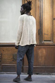 Men's Street Style — lifeasawaterelement:   Jan Jan Van Essche SS16