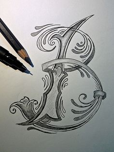 Sketch - Letter B for Better | Trying to do the next letter … | Flickr