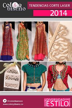 Tendencias corte laser 2014 Sari, Fashion, Fashion Trends, Colors, Hipster Stuff, Saree, Moda, Fashion Styles, Fashion Illustrations