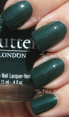 Butter London - British Racing Green